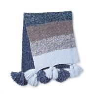 Bernat - Blue Velvet Fade Knit Blanket in Velvet (downloadable PDF)