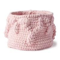 Bernat - Crochet Bobble Border Basket in Blanket (downloadable PDF)