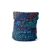 Bernat - Boho Knit Basket in Blanket (downloadable PDF)