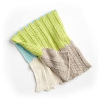 Bernat - Bold Baby Knit Blanket in Softee Baby Cotton (downloadable PDF)