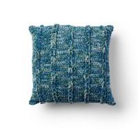 Bernat - Crochet Brady Bunch Pillow in Crushed Velvet (downloadable PDF)