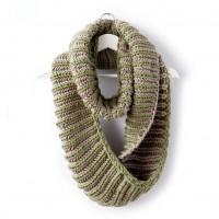 Bernat - Brioche Accent Knit Cowl in Softee Chunky (downloadable PDF)