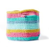 Bernat - Bulky Crochet Basket in Pop! Bulky (downloadable PDF)
