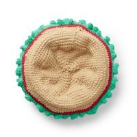 Bernat - Crochet Burger Pet Bed in Blanket (downloadable PDF)