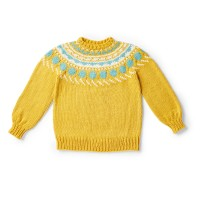 Bernat - Circle Around Knit Pullover in Softee Chunky (downloadable PDF)