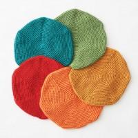 Bernat - Classic Crochet Beret in Satin (downloadable PDF)