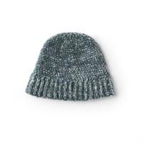 Bernat - Classic Crochet Beanie in Velvet (downloadable PDF)