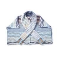 Bernat - Color Weave Crochet Wrap in Pop! (downloadable PDF)
