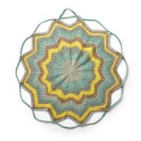 Bernat - Crochet Convertible Blanket Bag in Pop! (downloadable PDF)