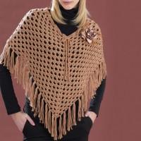 Bernat - Cool Crochet Poncho in Satin (downloadable PDF)