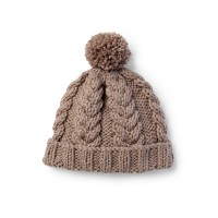 Bernat - Cozy Cable Knit Hat in Softee Chunky (downloadable PDF)