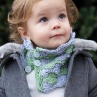 Bernat - Cozy Kid Cowl in Softee Baby (downloadable PDF)