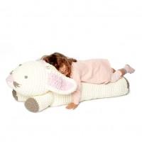 Bernat - Crochet Bunny Floor Pillow in Baby Blanket (downloadable PDF)
