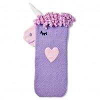 Bernat - Crochet Unicorn Snuggle Sack in Baby Blanket (downloadable PDF)