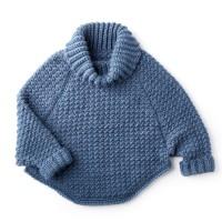 Bernat - Curvey Crochet Cowl Pullover in Roving (downloadable PDF)