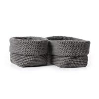 Bernat - Crochet Cutlery Baskets in Maker Outdoor (downloadable PDF)