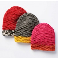 Bernat - Dipped Tip Crochet Hat in Beyond (downloadable PDF)
