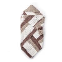 Bernat - Envelope Baby Sack in Softee Baby Stripes (downloadable PDF)