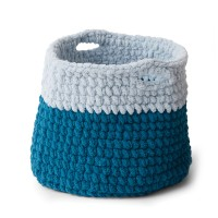 Bernat - Crochet Basket in Blanket Extra (downloadable PDF)