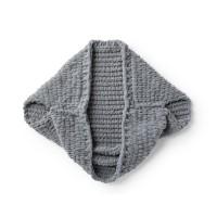 Bernat - EZ Cardigan in Alize Blanket-EZ (downloadable PDF)