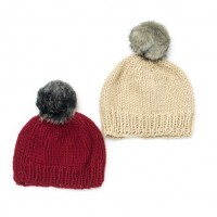 Bernat - Family Hats in Softee Chunky (downloadable PDF)