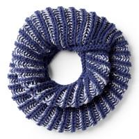 Bernat - Faux Brioche Knit Cowl in Softee Chunky (downloadable PDF)