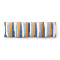 Bernat - Crochet Floor Pillow Lounger in Blanket Stripes (downloadable PDF)