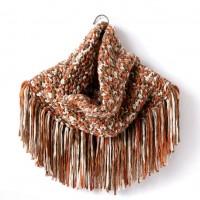 Bernat - Fringy Crochet Cowl in Beyond (downloadable PDF)