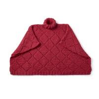 Bernat - Garter Lace Knit Poncho in Roving (downloadable PDF)