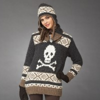 Bernat - Hardcore Hat and Pullover in Roving (downloadable PDF)