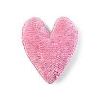 Bernat - Crochet Heart Pillow in Baby Velvet (downloadable PDF)
