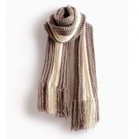 Bernat - Highline Crochet Scarf in Softee Chunky (downloadable PDF)