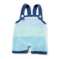 Bernat - Knit Baby Romper in Softee Baby (downloadable PDF)