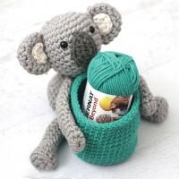 Bernat - Koala Crochet Basket in Beyond (downloadable PDF)