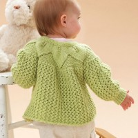Bernat - Leaf and Lace Set in Softee Baby (downloadable PDF)