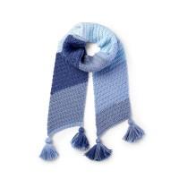 Bernat - Lean on Me Crochet Scarf in Pop! (downloadable PDF)
