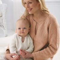 Bernat - Mom's Pullover in Satin (downloadable PDF)
