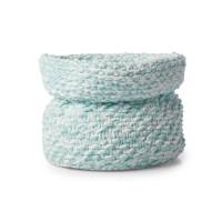 Bernat - Knit Nursery Basket in Baby Blanket (downloadable PDF)