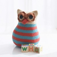Bernat - Owl Toy in Satin (downloadable PDF)