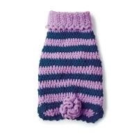 Bernat - Posh Pooch Crochet Dog Coat in Blanket Pet (downloadable PDF)