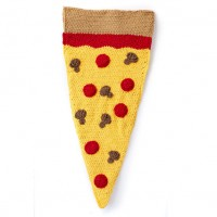Bernat - Pizza Party Crochet Snuggle Sack in Blanket, and Blanket Brights (downloadable PDF)