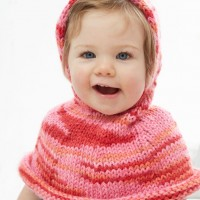Bernat - Poncho a Go-Go! In Softee Baby Chunky (downloadable PDF)