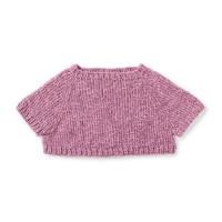 Bernat - Knit Poncho Pullover in Baby Velvet (downloadable PDF)