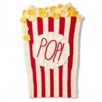 Bernat - Pop! Pop! Popcorn Crochet Snuggle Sack in Blanket, and Blanket Brights (downloadable PDF)
