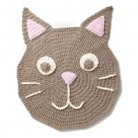 Bernat - Purrfect Crochet Play Rug in Baby Blanket (downloadable PDF)