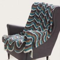 Bernat - Ripple Blanket in Blanket (downloadable PDF)
