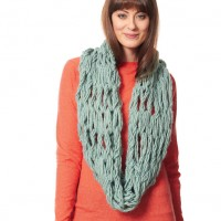 Bernat - Arm Knit Cowl in Roving (downloadable PDF)