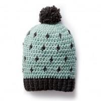 Bernat - Cozy Crochet Hat in Roving (downloadable PDF)