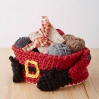 Bernat - Santa's Gift Basket in Mega Bulky (downloadable PDF)
