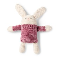 Bernat - Square Hare in Baby Velvet (downloadable PDF)